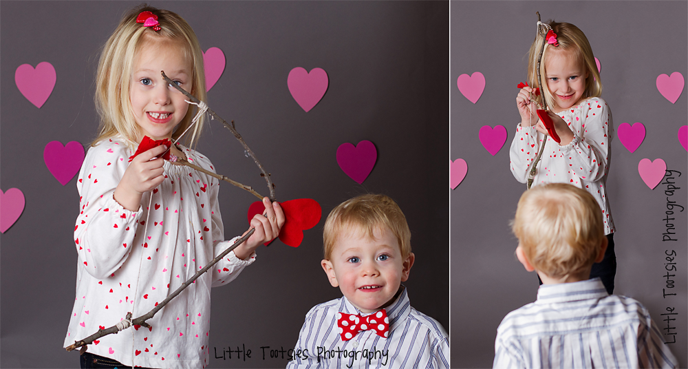 outtake blog Fun with my kids!   A Valentines Mini Session